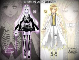 [CLOSED] Demon and Angel Adoptable AUCTION #4 by Black-Quose