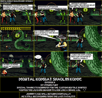 MK: Shaolin Komic Episode 6 by HybridFury