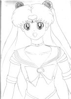 Sailor Moon Practice Drawing. by CALIB454