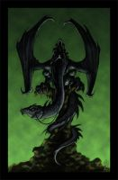 Nazgul on Fell Beast by VegasMike