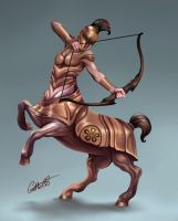 Centaur Centurian by Christopher-Stoll