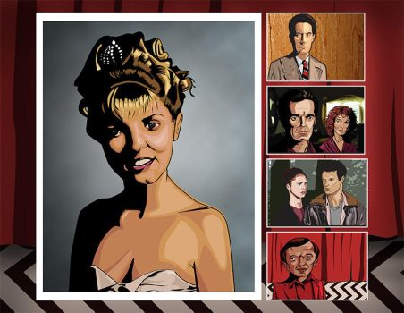Twin Peaks Fan Art by attiba