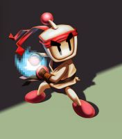Bomberman/ Ryu by JorgeMV