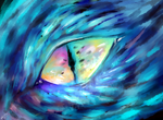dragon eye by Diamondfeathers