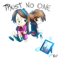 .:Trust no one!:. by FJ-C