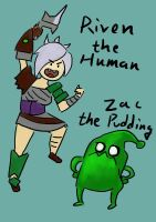 Riven the Human by Marduk44