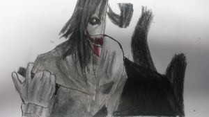 jeff the killer vs slenderman by demiselight88