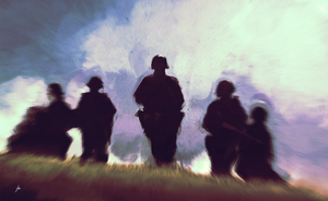 Saving Private Ryan study by chadlindall