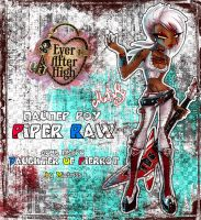 [Ever After High] Piper Raw by Miatriss