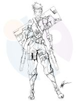 InkFable Character Design 002 by SmithByDesign