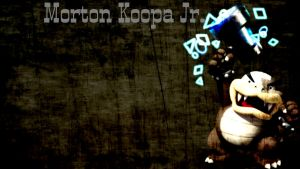 Morton Koopa Jr. Desktop Wallpaper by LostCrystal