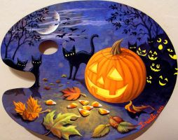 My Tribute to Halloween by Nevuela