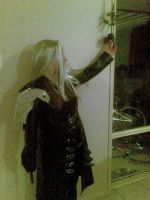 sephiroth cosplay XD by sexyasfuck