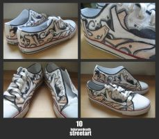 Customised Sneakers 10 by injuryordeath