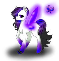 New OC - Aura Mist by XBluexMoonX
