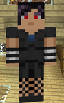 Lain Claes Minecraft Skin by NephilV