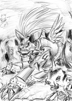 Royal Hunt -randomsketch- by Garmmon