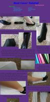 Boot Cover Tutorial by SilentDreamerAkira