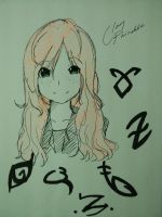 Clary Fairchild and Runes by DanchouLoli-chi