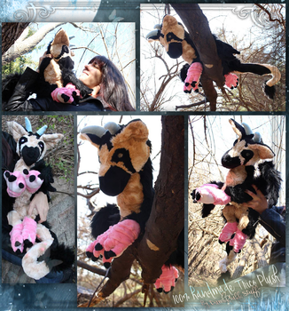 Trico inspired The Last Guardian Plush collage 1 by DumbFluffStuff