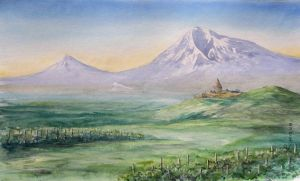 Armenia. Ararat by Metttko