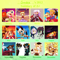 2012 Art Summary by Sandette