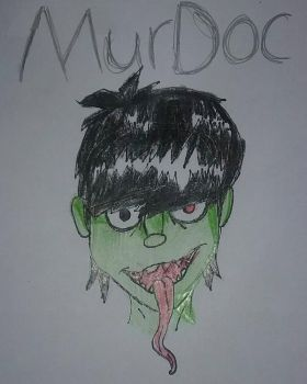 Murdoc - Gorillaz by DawnShineOfficial