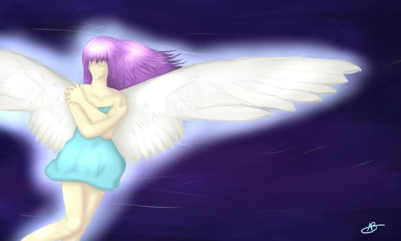 Angel Above by GothicPrincess0134
