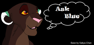 ASK BLUE ~ OPEN!! ask away by Foreverloved525