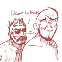 Damn Cultists by ScreenDrawingShit