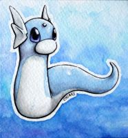 9,999 Kiriban Prize: Dratini by ChiakiNeko