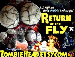 Return of the Fly Heads by GutterJim