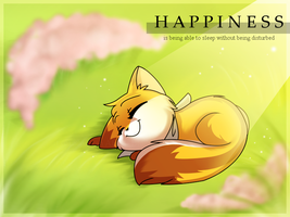 Happiness Is by ShahirahLikesMilk