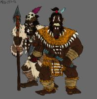Troll-men of Far Harad by Mara999