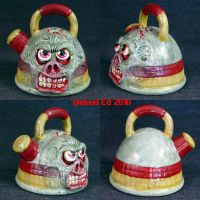 Zombie Tea Kettle Shaker spice by Undead-Art