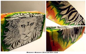 Lion of Judah Keepsake Box by Murphy-Murphy
