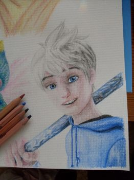 Jack Frost - Rise of the Guardians by xiii-wings