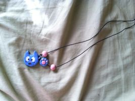 Happy Necklace by amy23000