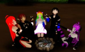 [MMD] Wolf Pack by khftw