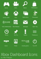 Xbox Dashboard Icons by PiccoloV