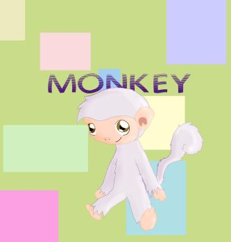 Monkey by Blazestar31