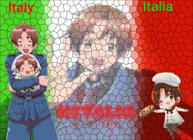 APH-Italy Wallpaper for psychseer13 by ZzZNelliezZz