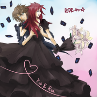 doodle: Kai and Ren in Ride 40 by Fivian