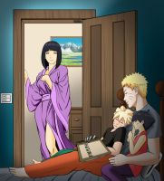 NaruHina - Goodnight by odinforce23