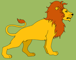 Lion by RedMcSpoon