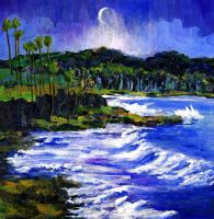 Blue Moon Over Laguna by RandySprout