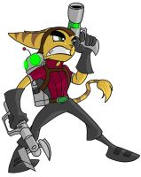 Ratchet and Clank by crimsondespot