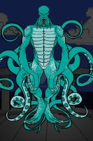 Heromachine: The Octopus Monster by ARTIST-SRF