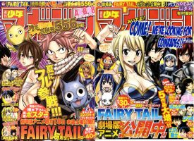 FairyTail 294/295 title page by chottion
