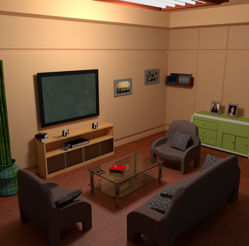 The living room by smartape